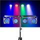 Chauvet 4BAR 4x LED Par Wash Light Complete System