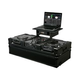 Odyssey FZGS10CDJWBL Black Glide DJ Coffin for 2 CD Players and 10-Inch Mixer +