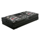 "Odyssey FZBM10W-BL Black DJ Coffin Case for 10"" Mixer and Turntables"