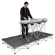 Road Ready RRKEYPAK8 Carpeted Keyboard Platform  *