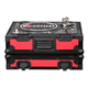 Odyssey FR1200BK Red DJ Turntable Case