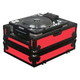 Odyssey FRCDJBKRED  Lrg Format CD Plyr Case (Red +