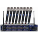 Vocopro UHF8800 8 Ch Wireless Microphone System