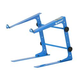 Odyssey LSTAND BLUE DJ Laptop Stand with Clamps