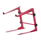 Odyssey LSTANDRED Red DJ Laptop Stand With Clamps