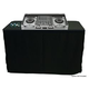 SKRIMS 8ft Professional DJ Table Cover Black