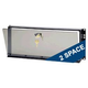 Mid Atlantic SECL2 2 Space Smoked Security Panel