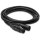 75 Ft Premium Microphone Cable XLR To XLR - Black