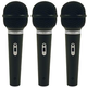 Audio Technica ST90MKII Dynamic Microphone 3-Pack
