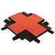 Checkers GDCR5X125OB 4 Way Cross Orange-Black