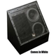 EV Dual 8 Inch 2 Way Flyable Speaker - White