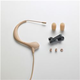 Audio Technica BP893CTH Cond Headset Mic - Beige