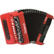 Roland FR-18D-RD Diatonic V-Accordion Red