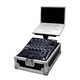 Road Ready 12-In DJ Mixer Case W/ Laptop Tray
