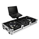 Road Ready RRDJCD12WL 12In DJ Mixer Case W/Wheel +