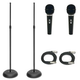Economy Vocalist Stand Mic And Cable Package