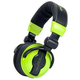 American Audio HP550G Pro Dj Headphones Lime Green