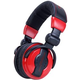 American Audio HP 550 Red DJ Headphones