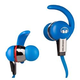 Monster iSport Athletic In Ear Headphones - Blue