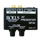 Rolls DB14b Audio/Visual Stereo Patch Box