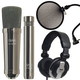 CAD GXL2200BPSP Black Pearl Studio Mic Package