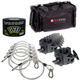 Lighting Accessory Pack with Clamps Cables Tape & Carrying Bag