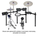 Yamaha DTX520SP Electronic Drum Kit              +