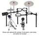 Yamaha DTX560SP Electronic Drum Kit              +