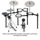 Yamaha DTX700SP Electronic Drum Kit              +