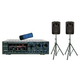 VocoPro ASP-9800 Mixer/Speaker Package - 600W    *