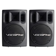 VocoPro PV-802 Pro 400W Powered Speakers (Pair)  +