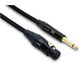 10 Ft Mic Cable Neutric Xlr (F) To 1/4 Ts 20 Awg