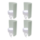 PSSL Light Shield 4 Pack For LED Fixtures - White