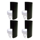 PSSL Light Shield 4 Pack For LED Fixtures - Blac