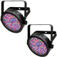 Chauvet SlimPAR 56 LED RGB Wash Light 2 Pack