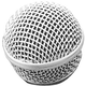 On Stage SP58 Steel Mesh Microphone Grille - Slver
