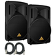 Behringer Eurolive B215D 15-Inch Powered Speakers (Pair)