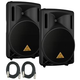 Behringer Eurolive B212D 12-Inch Powered Speakers (Pair)