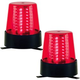 ADJ American DJ Professional B6RLED Stage Beacon Red Twin Pack
