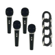 Pro ST90MKII Vocal Mic And Mic Cable Four Pack