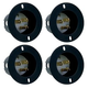 AC Recessed Mountable (AC-INLET) AC Plug 4 Pack