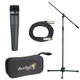 Shure 1 x SM57 Mic Pack W/Stand Cable And Tote   +