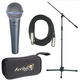 Shure 1 x BETA58A Mic Pack W/Stand Cable Tote    +