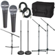 Shure SM58 Complete Performers Mic Package       +