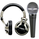 Shure SRH750DJ Headphone And SM48S Mic Package   +