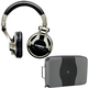 Shure SRH750DJ Headphone And Pro Cd Case Pack    +