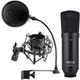 MXL SP-1 Studio Microphone and Accessory Package