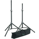 K&M 21459 Pro Speaker Stand An Dlx Road Bag Pack +