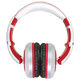 CAD MH510W Closed-back Studio Headphones - Wht/Red