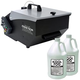 ADJ American DJ Mister Kool Fog Machine with 2 Gallons of Fog Fluid